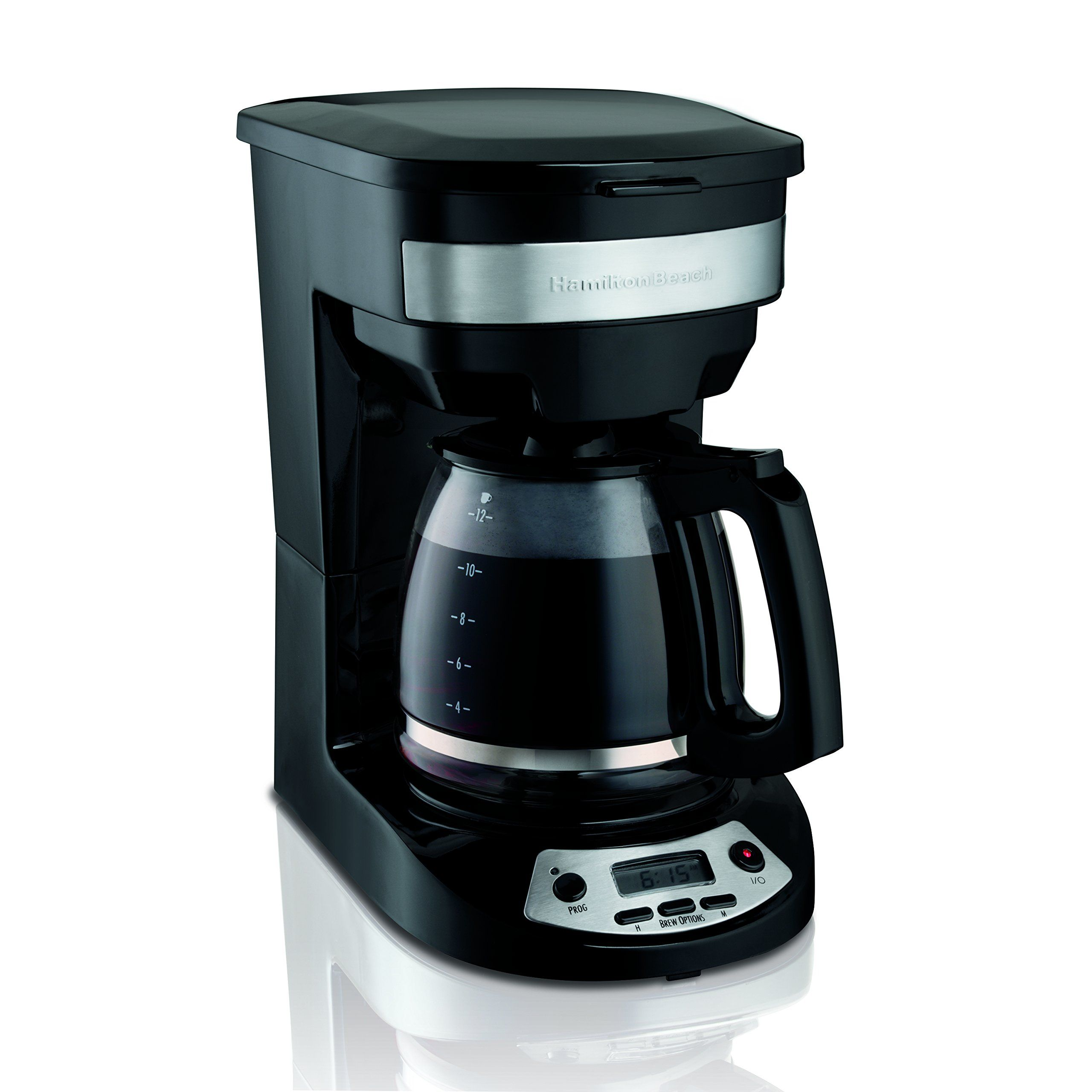 Hamilton beach programmable coffee maker black read more