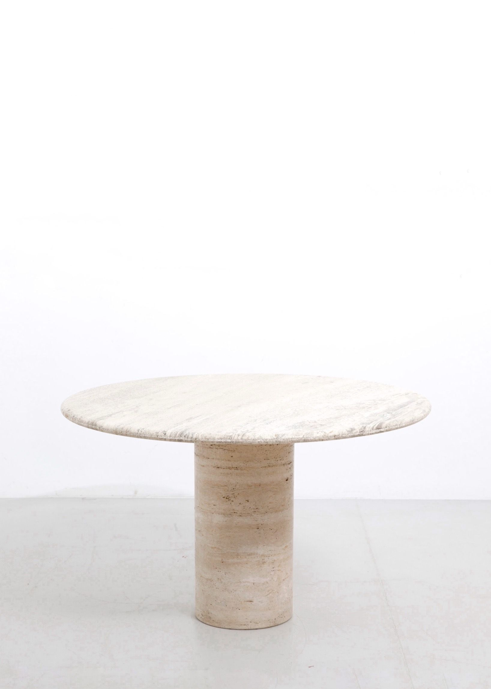 Travertine Dining Table Modest Furniture Stone Dining Table
