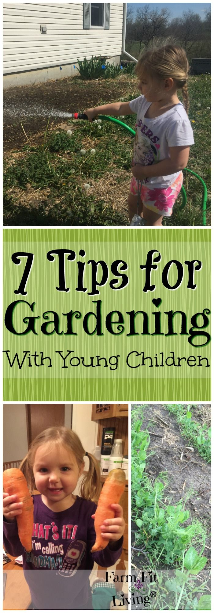 7 Tips For Gardening With Young Children Best Of Farm Fit