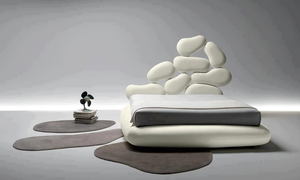 Letto moderno con contenitore. Modern bed with container. | Chilhuly ...