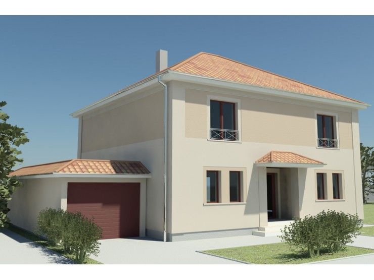 City 130 einfamilienhaus von stimmo hausbau gmbh for Einfamilienhaus modern walmdach