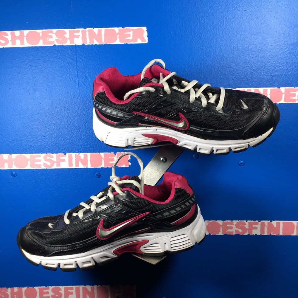 b5b19d2419a Nike Initiator womens 75 sneakers pink black athletic running shoes 394053   fashion  clothing