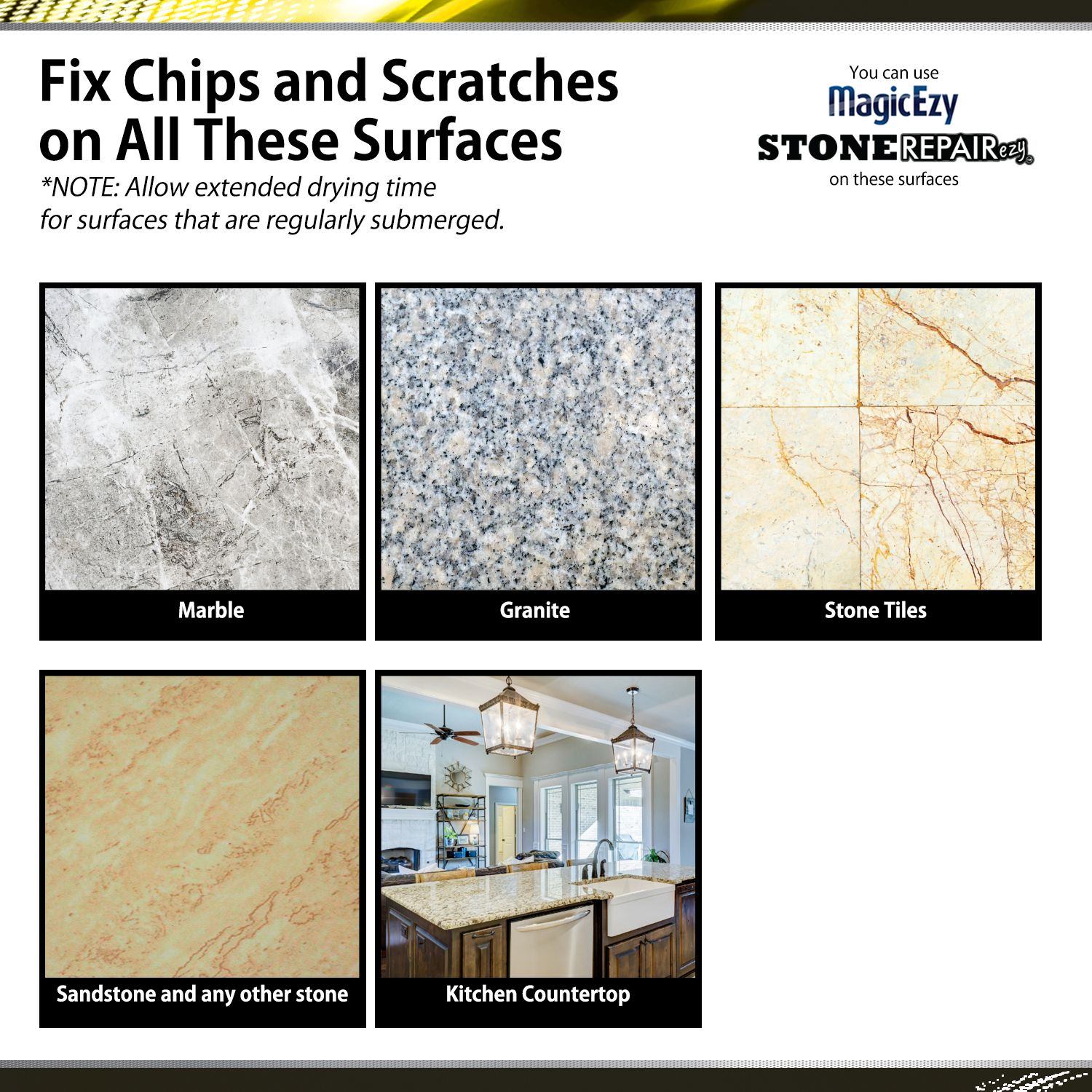 Fix Chips And Scratches On All Kinds Of Surfaces In 2020 Granite Beige Stone Granite Stone