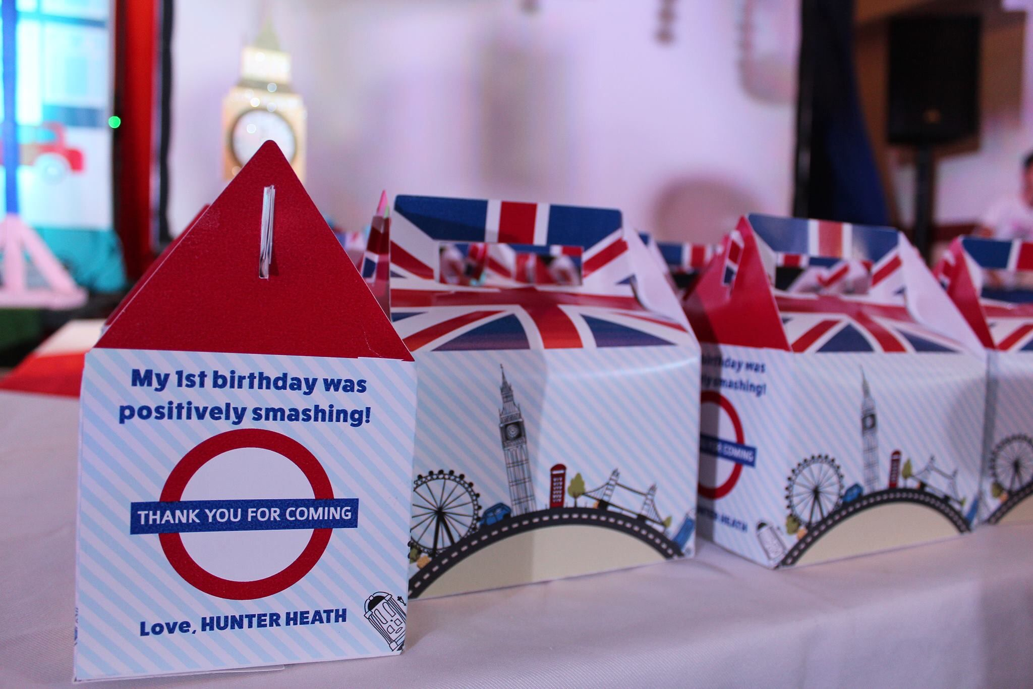 Hunter Heath S London British Themed First Birthday Party British Themed Parties Party Themes British Party