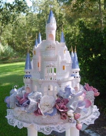 cinderella castle royal wedding cake topper custom cinderella s castle cake topper or centerpiece 12852