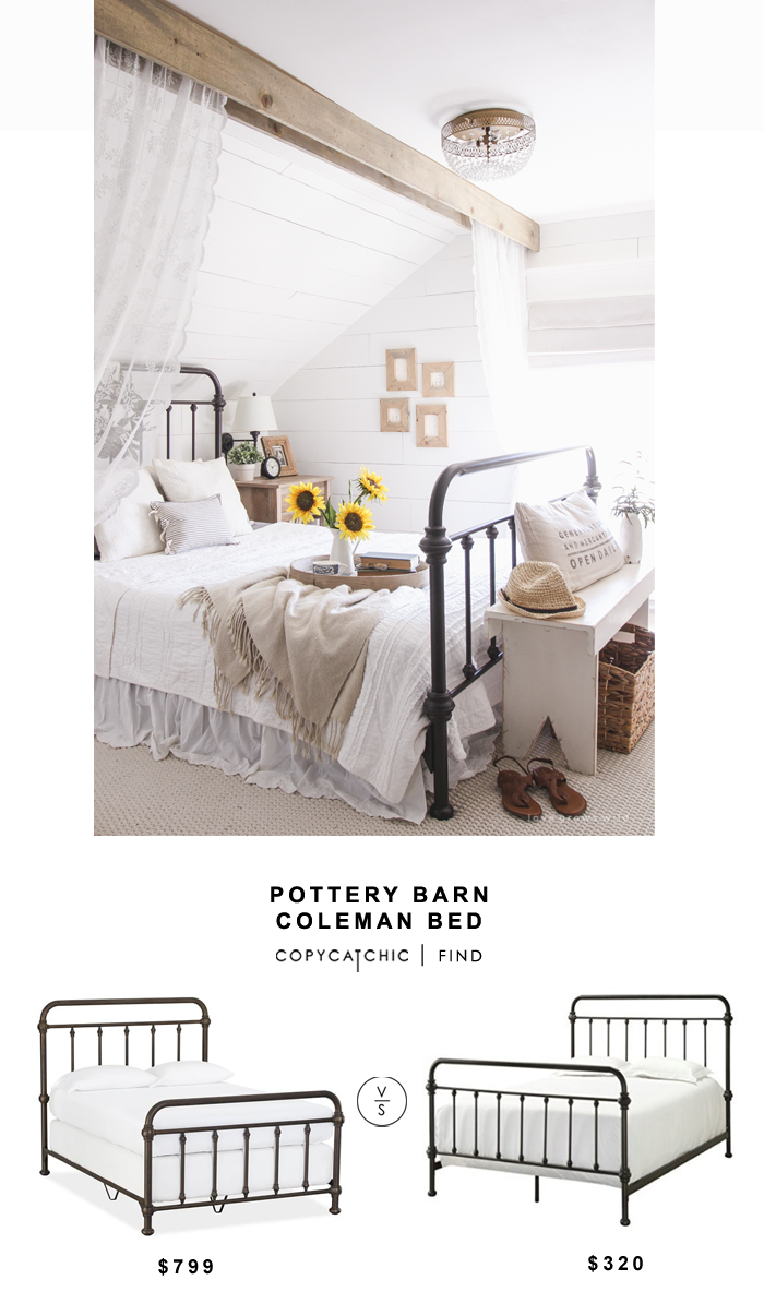 Pottery Barn Coleman Bed - copycatchic  Pottery barn bedrooms
