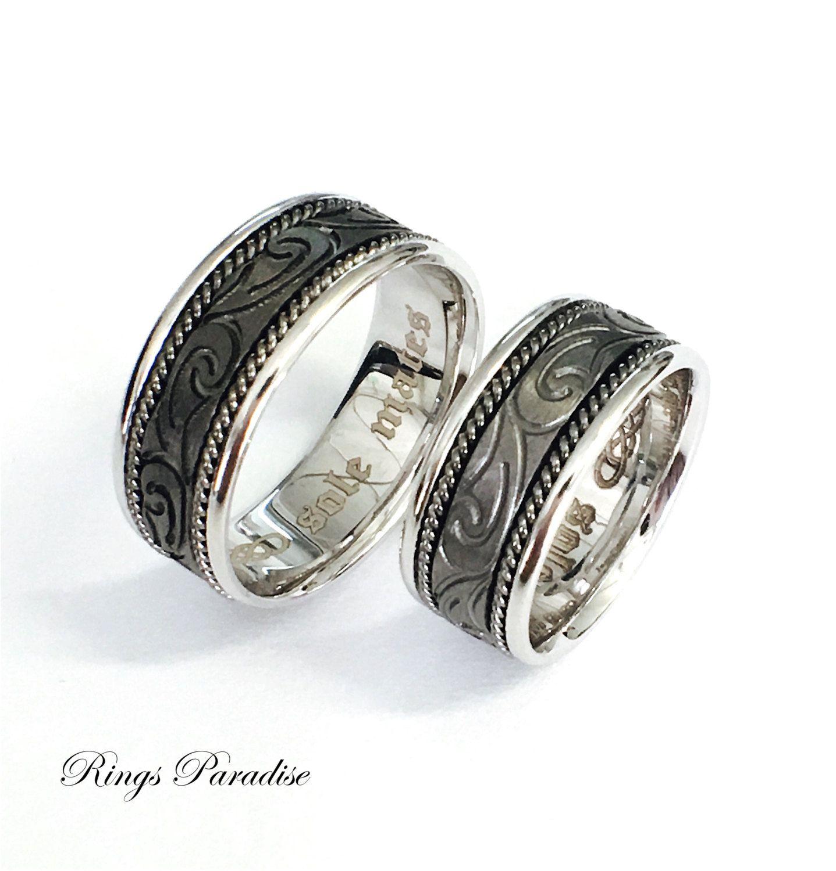 Celtic Knot Ring, Celtic, Wedding Bands, Scottish Ring, Unique Celtic Ring,