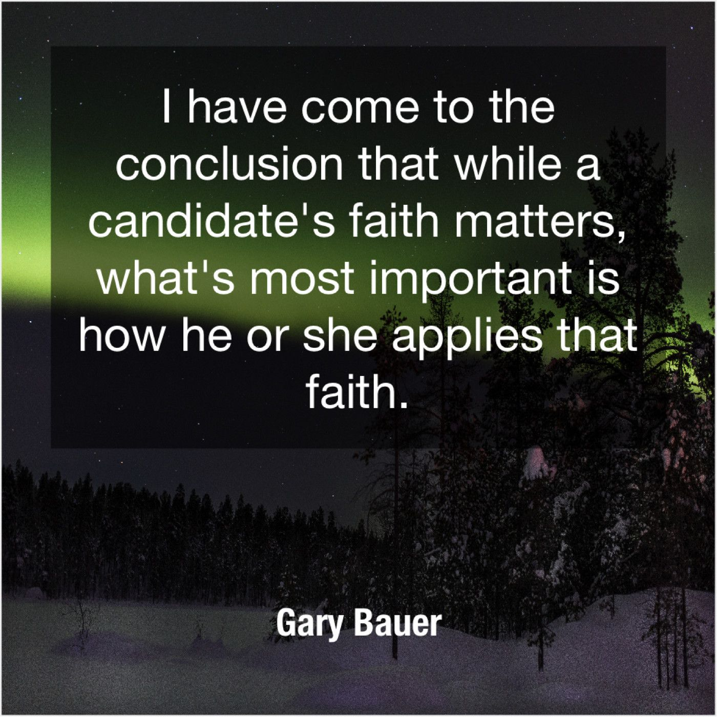 Gary Bauer I Have Come To The Aiden Wilson Tozer Gary Bauer