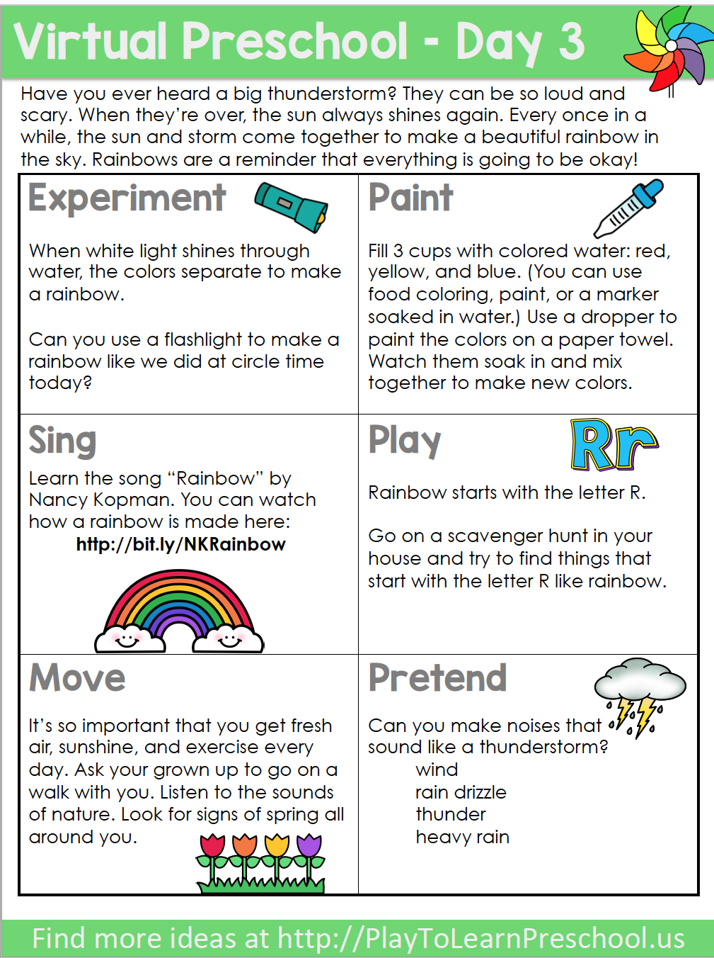 Virtual Preschool Circle Time Videos | Preschool ...