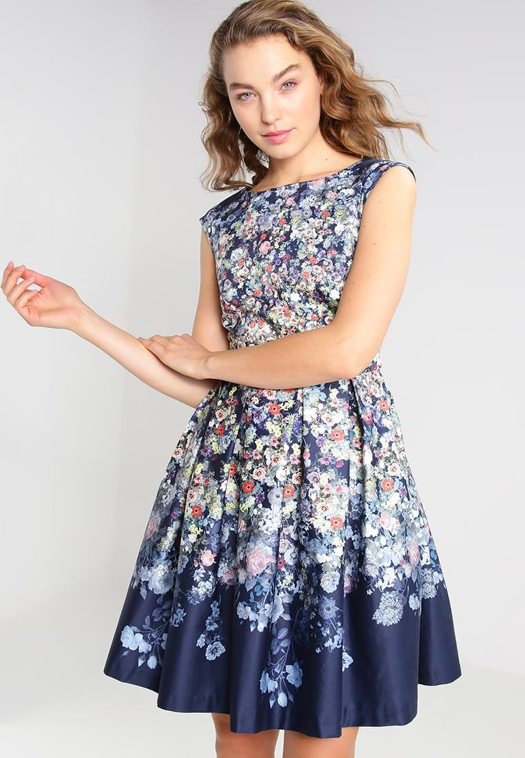 3b1260101e Closet Sukienka letnia - blue - Zalando.pl
