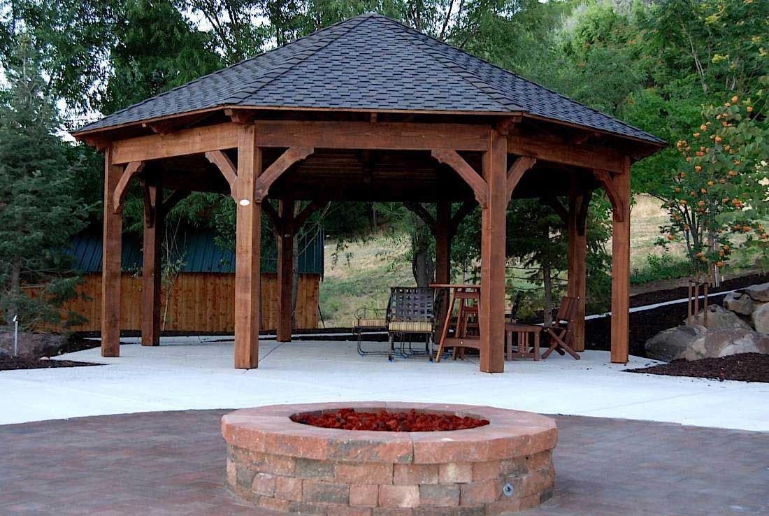 About Outdoor Decor For Fun On Pinterest Fire Pits Fire Pit Swings - Octagon fire pit swing