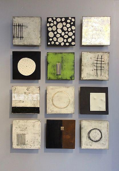 Zwölf von Lori Katz (Keramik-Wandskulptur - #Keramik #Katz #Lori #Menschen #Skul #ceramicpainting