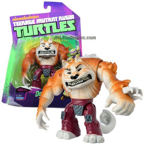 TMNT Teenage Mutant Ninja Turtles Shredder/'s Top Dog Dogpound Figure