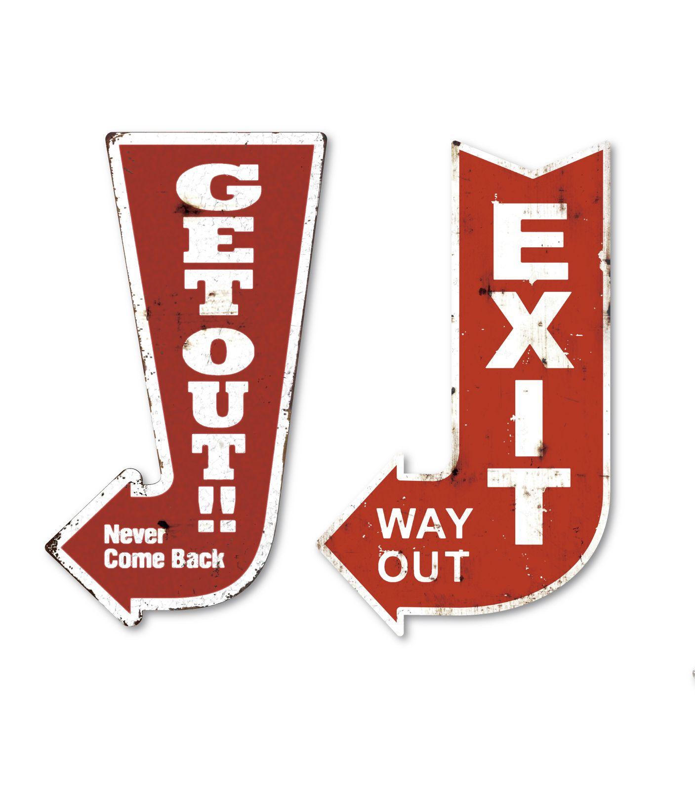 Original Vintage L Type Arrow Sign #Vintage Sign #Vintage Graphic Design
