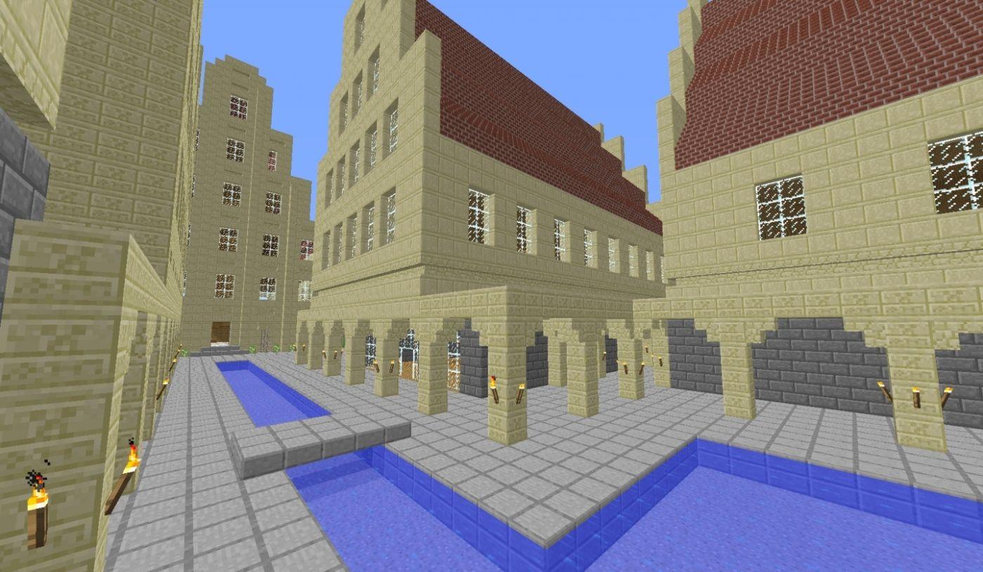 Altstadt: Altstadt mit Giebelhäusern | Minecraft | Pinterest ...