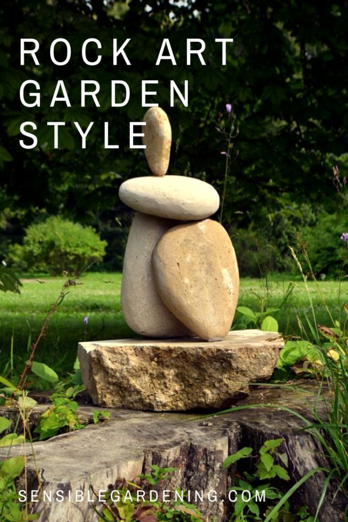 Rock Art Garden Style is part of garden Crafts Rocks - DIY decor art projects for your garden using rocks and stones  Something for everyone, even the kids  Economical, doable and fun rock art projects