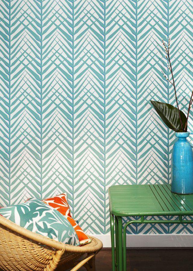 papier peint tropical notre s lection pour une d co exotique wallpaper. Black Bedroom Furniture Sets. Home Design Ideas