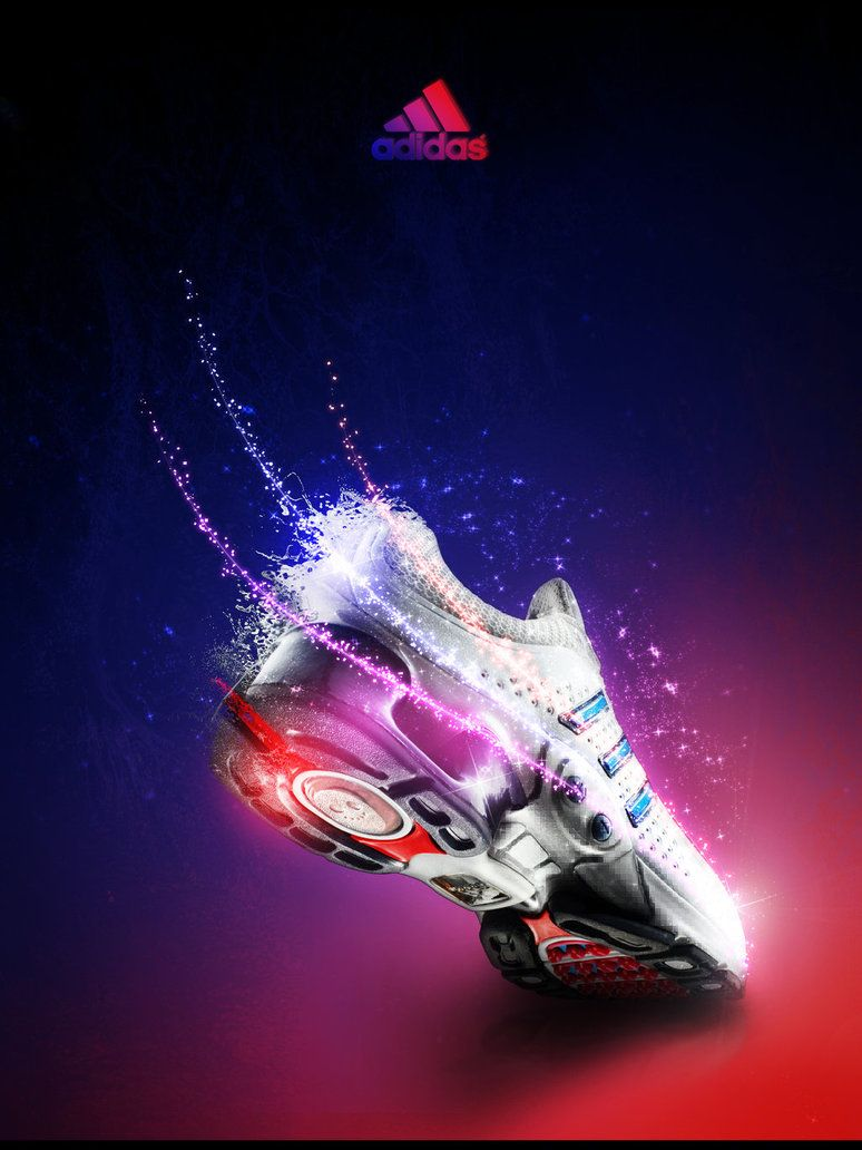 Adidas Ad By Phanox On Deviantart Adidas Advertising Advertisement Examples Adidas Wallpapers