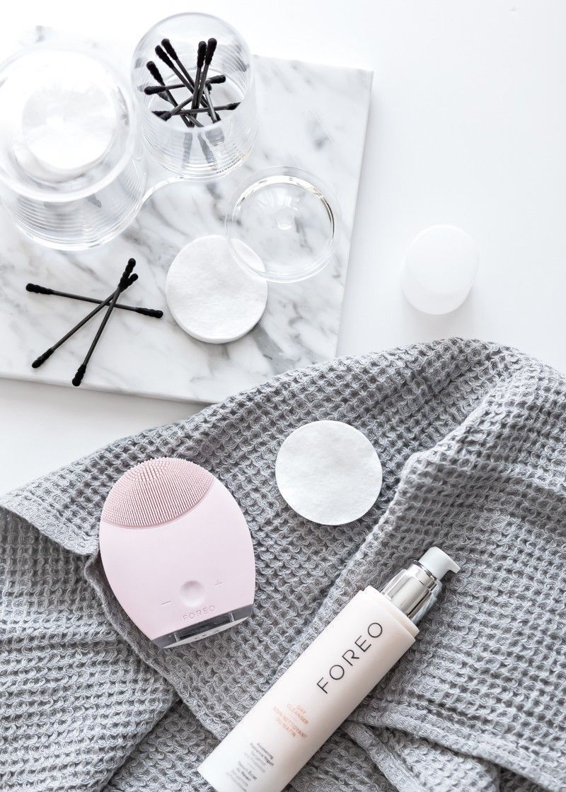 everyday beauty routines   foreo luna   My Full House
