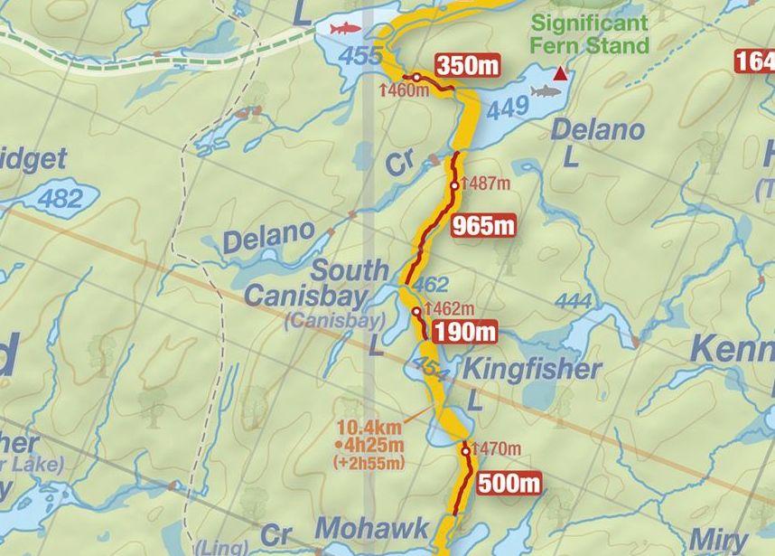 South Canisbay Lake Jeffu0027s Map South