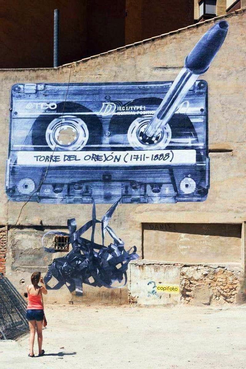 Kann mich noch gut daran erinnern StreetArtNews on G+ EspaiMGR Spain #streetart #art #graffiti http://t.co/24uq1uKOG2   MyMeedia -- Media Management Simplified