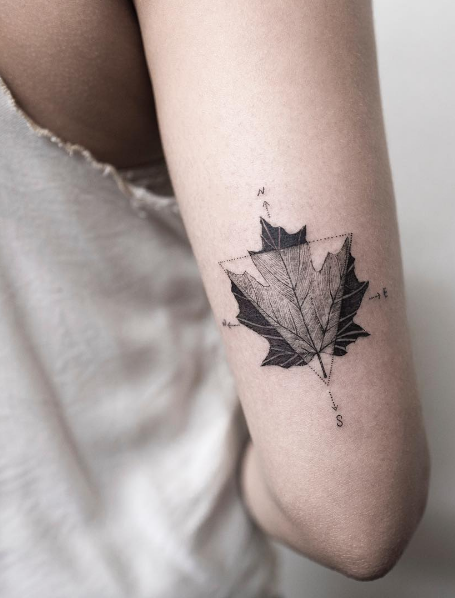 small compass tattoo #ink #Youqueen #girly #tattoos #compass ...