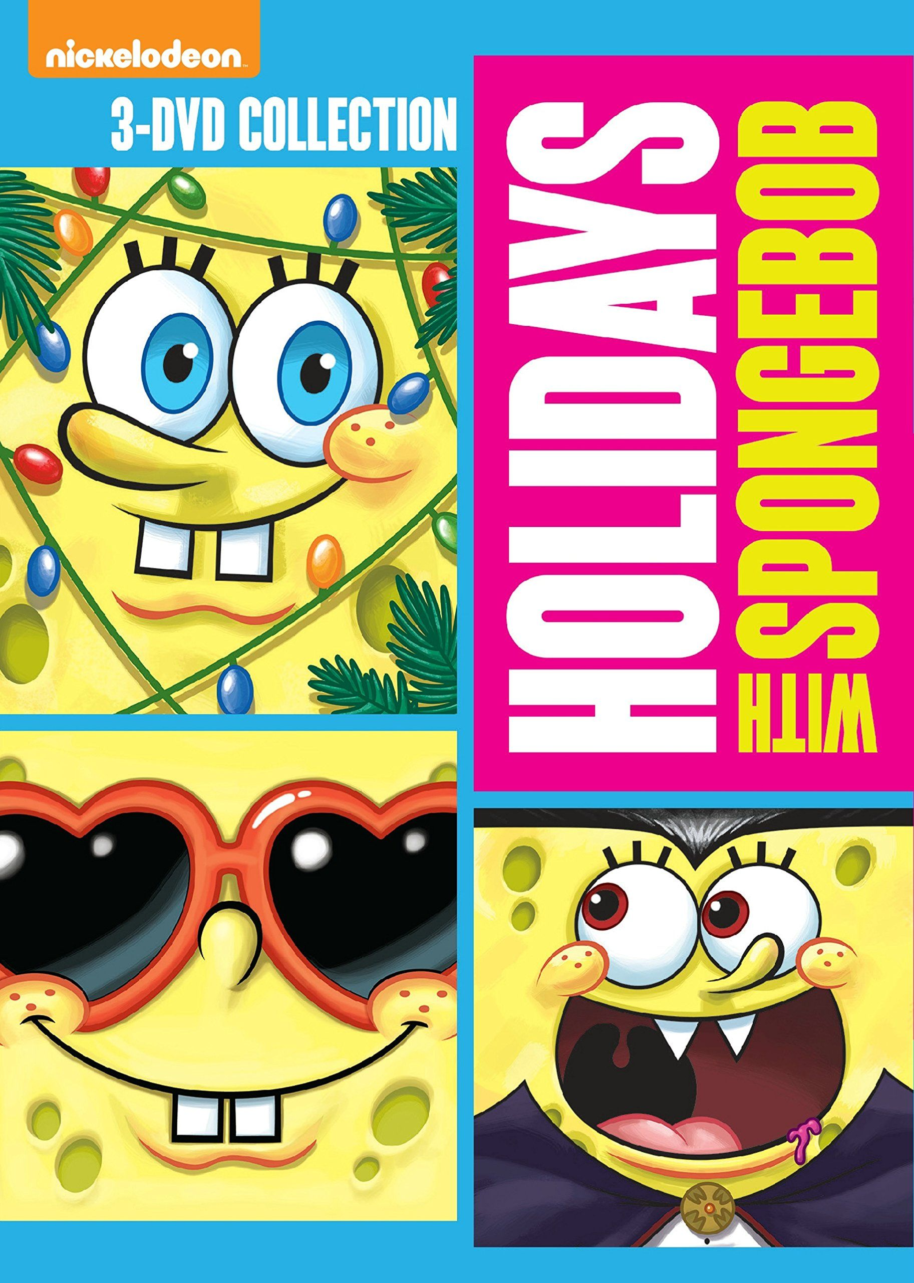 Spongebob Squarepants Holidays With Spongebob Release