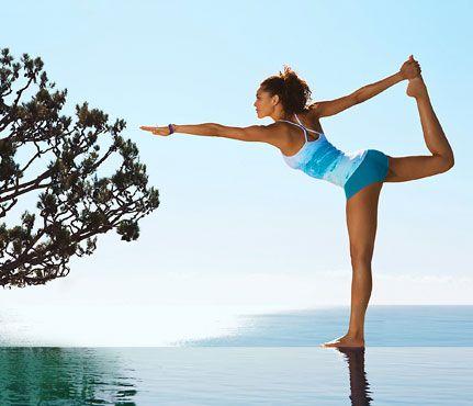 Yoga, yoga, yoga.