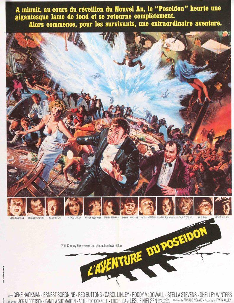 Poseidon Adventure 1972 Original Movie Posters At