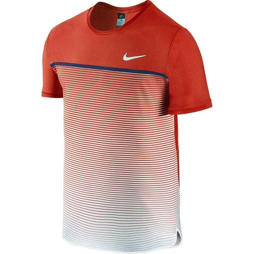 Nike Court Challenger Premier Crew Mens Tennis Shirt L Light Crimson 728953 671 Nike Activewearshortsleeve Tennis Shirts Nike Shirts Mens Tops [ 1000 x 1000 Pixel ]