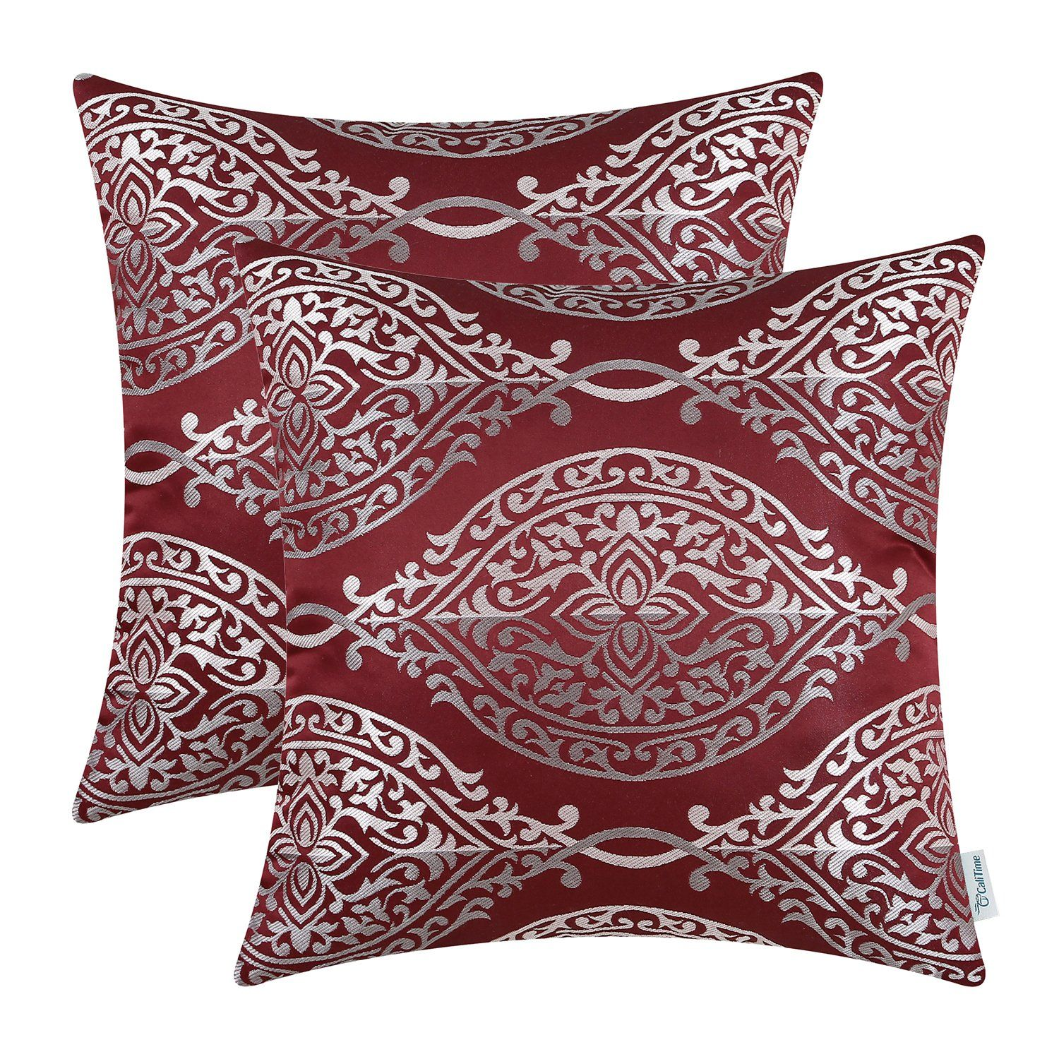 feather luxurious throw gold back fill cushions british of jacquard pattern burgundy velvet de wonderful sword pillows cover classic full pillow lys size tapestry fleur cushion