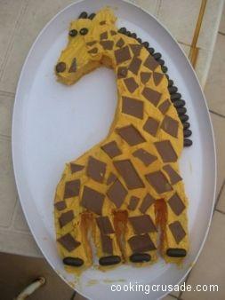 giraffe with template