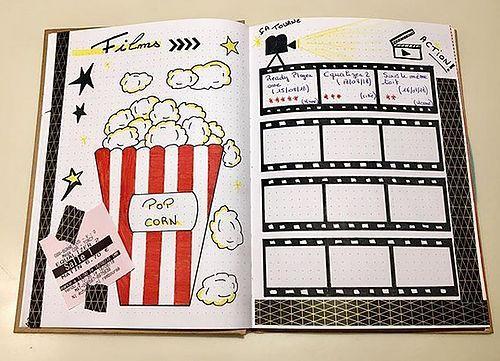Création de mon Bullet Journal #journaling