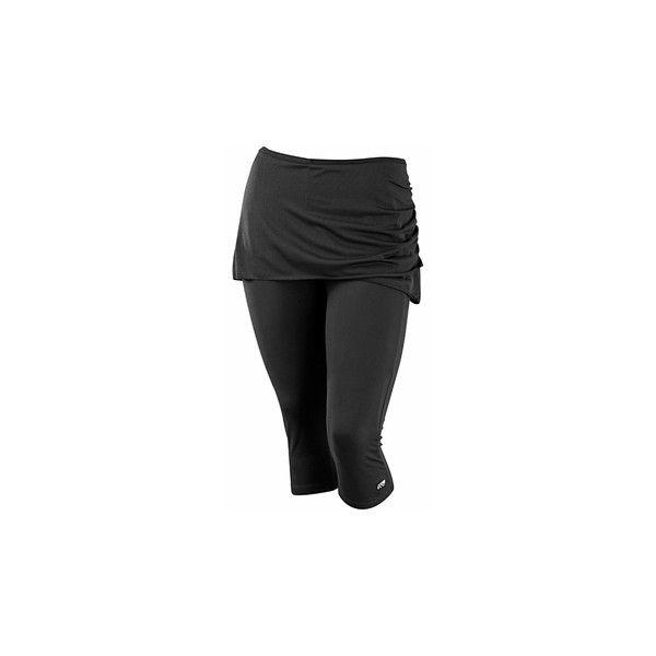 03702b9aafc Plus Size Activewear Marika Curve Plus Alice Skirted Capri ( 50) ❤ liked on  Polyvore