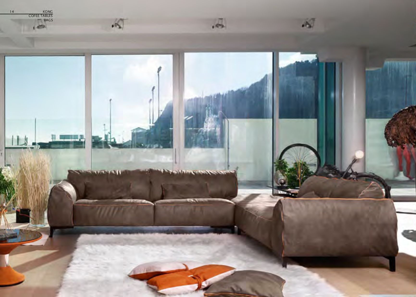 ... are the results of Gamma Arredamentiu0027s handcrafted workmanship and passion for design. Pictured here Gamma Kong Sectional-Cantoni Furniture : cantoni sectional - Sectionals, Sofas & Couches