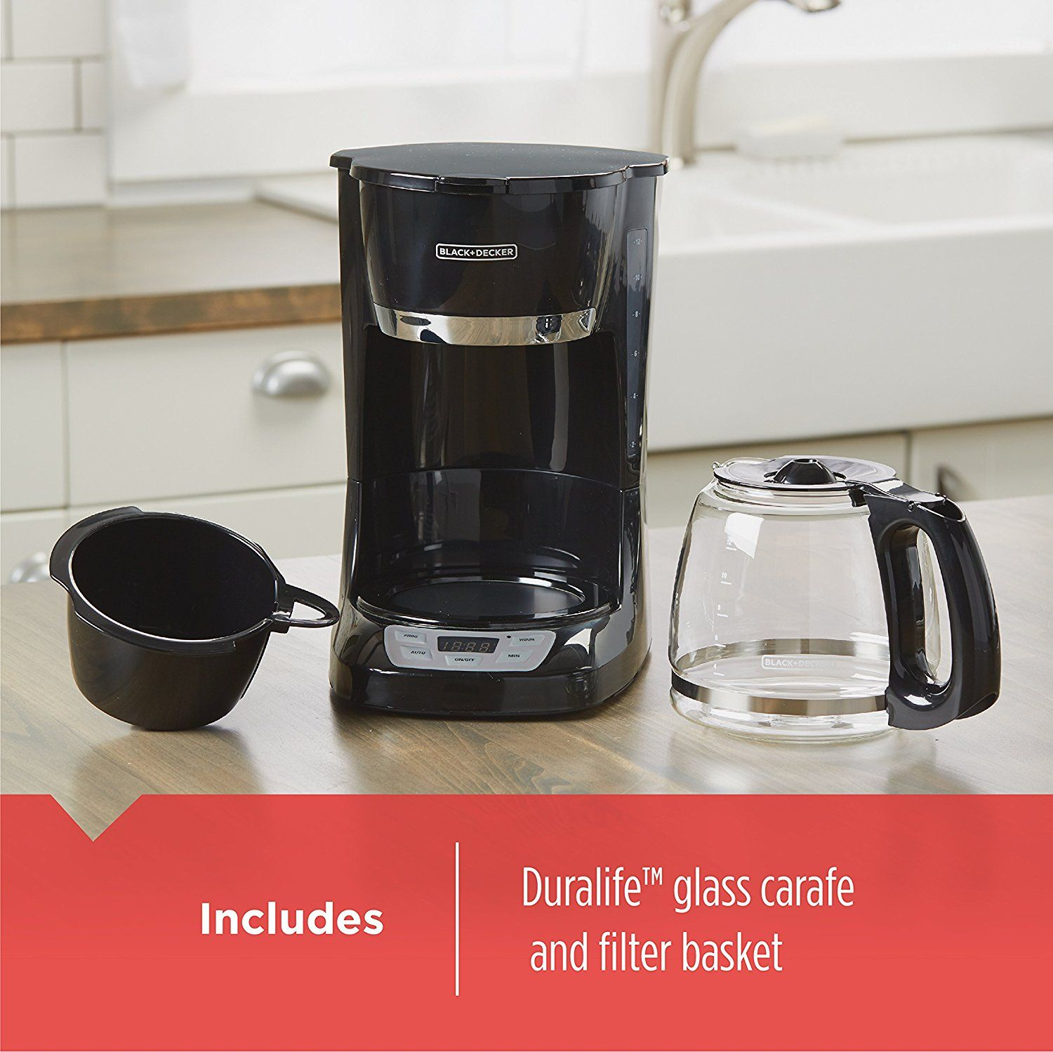 Amazon blackdecker cup programmable coffeemaker black