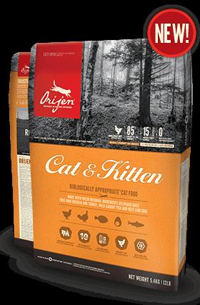 Cat Food Database Orijen Cat Kitten Canada Kitten Food Cat Food Dry Cat Food