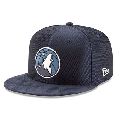 Minnesota Timberwolves New Era 2017 NBA Draft Official On Court Collection  59FIFTY Fitted Hat - Navy 5d773be1fa7c