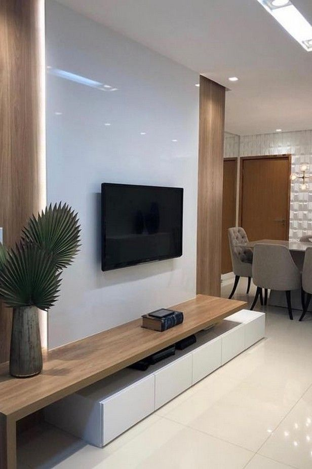 76 Incredible Tv Wall Design Ideas For Living Room Decor 9 Living Room Tv Unit Designs Living Room Tv Wall Small Living Room Decor #wall #designs #ideas #for #living #room