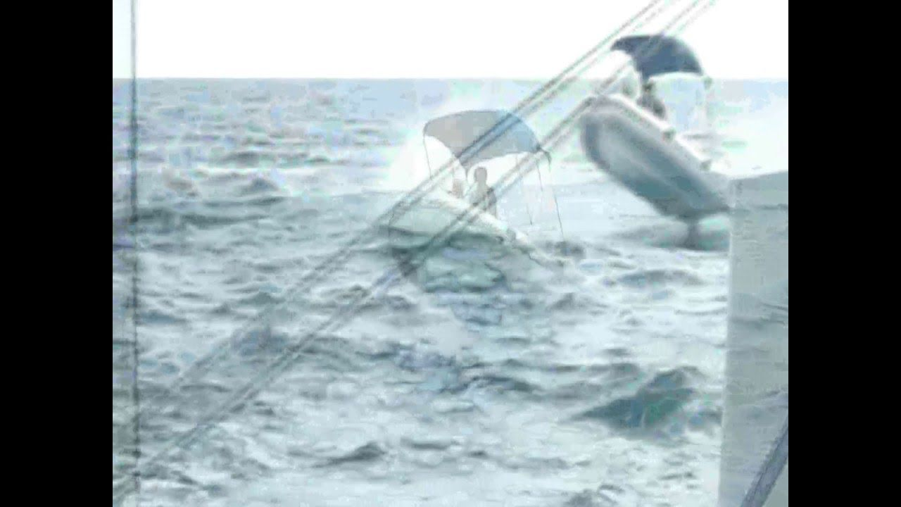 Rough Seas on a 5.2M (17 ft.) RIB