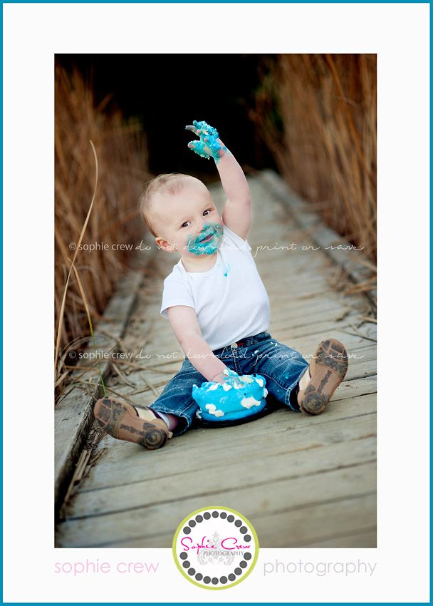 San diego cake smash baby newborn maternity photographer one year session portraits outdoor nature north county