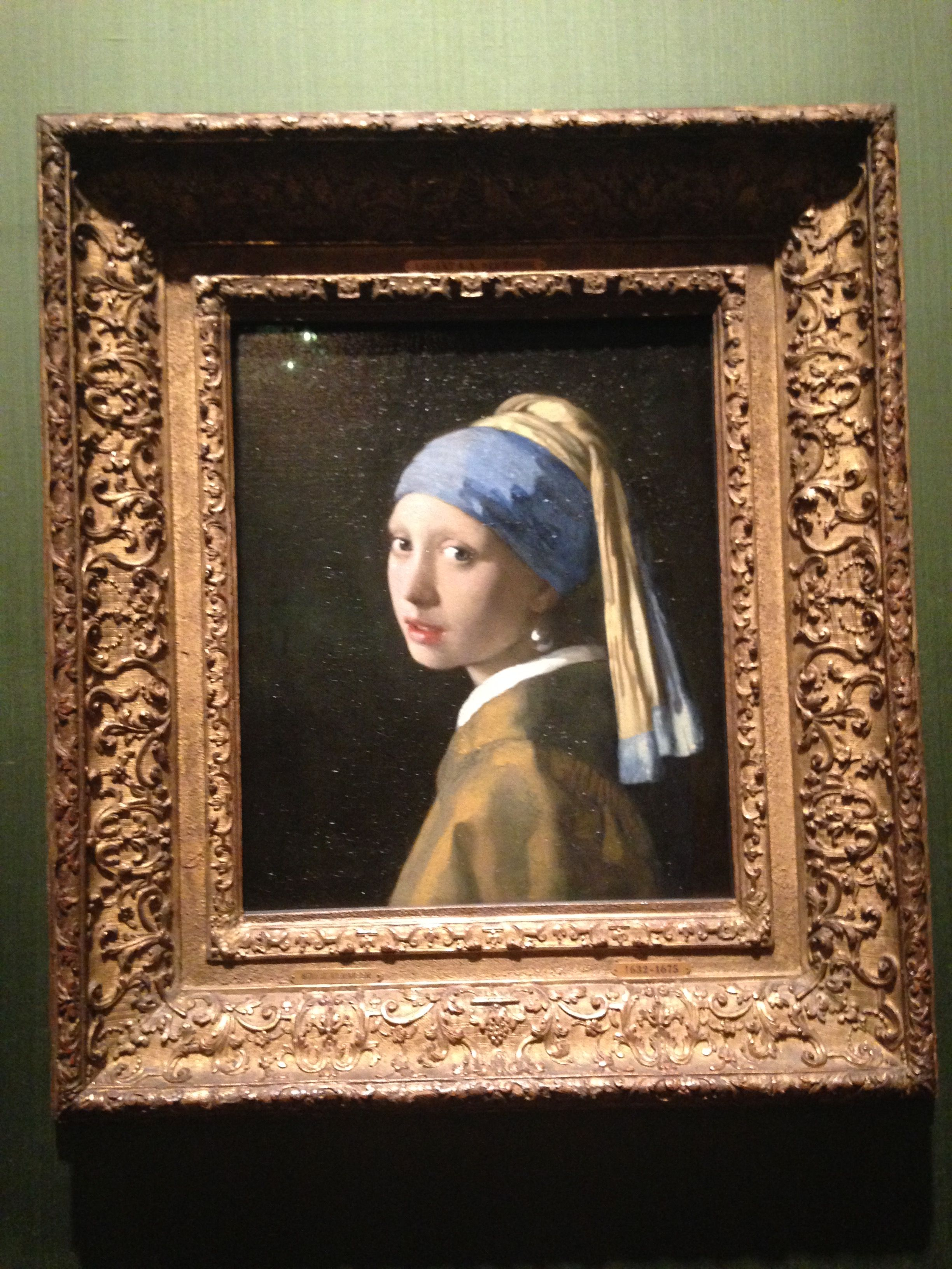 Den Haag Netherlands Girl with a Pearl Earring Johannes