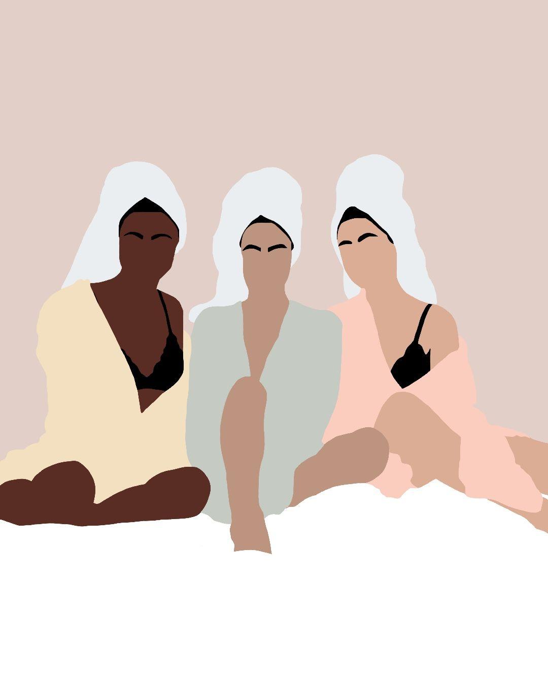 #procreate #girls #illustration #digitalart #girlboss