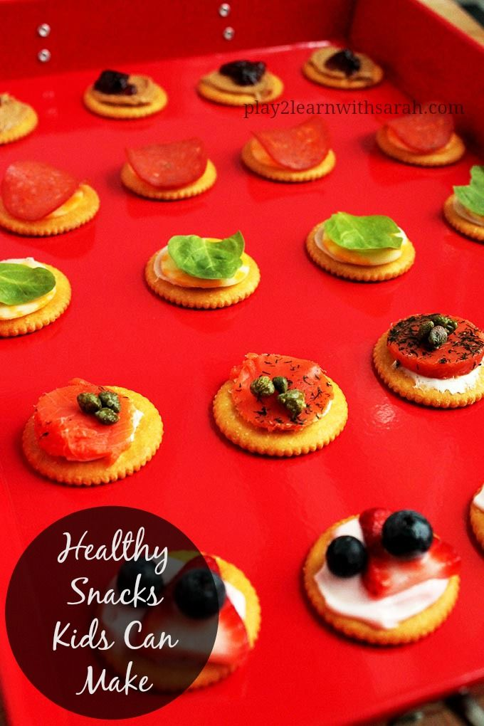 Healthy Snacks Kids Can Make Healthy Snacks For Kids