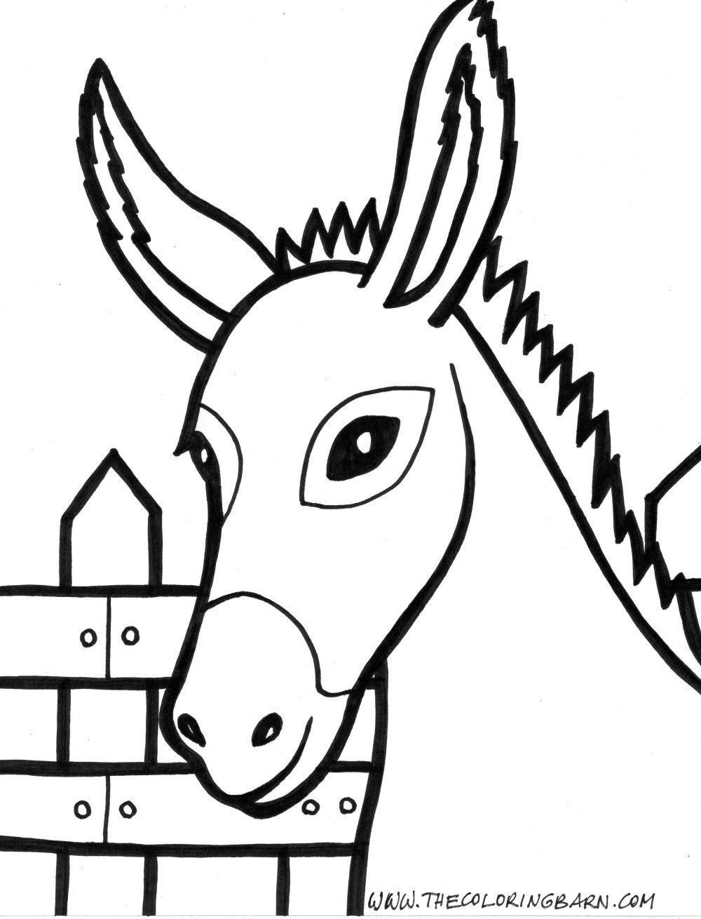 farm animals coloring pages preschool Animals coloring pages