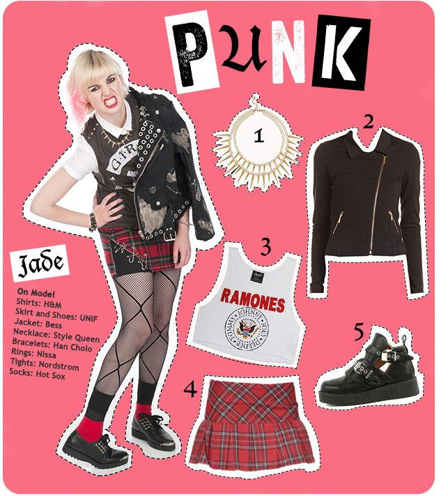 Trend Alert: Back To School Fashion for Girls | Punk | FashionClub.com