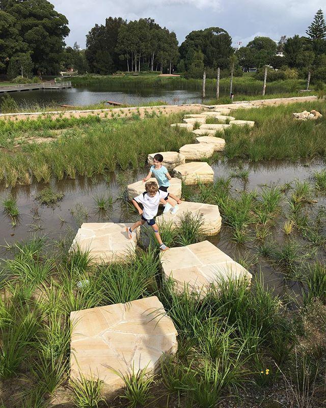 Sydney Park Reuse Project Wins Top Design Award Cityofsydney Largest Landscape Architecture Park Landscape Design Park Landscape