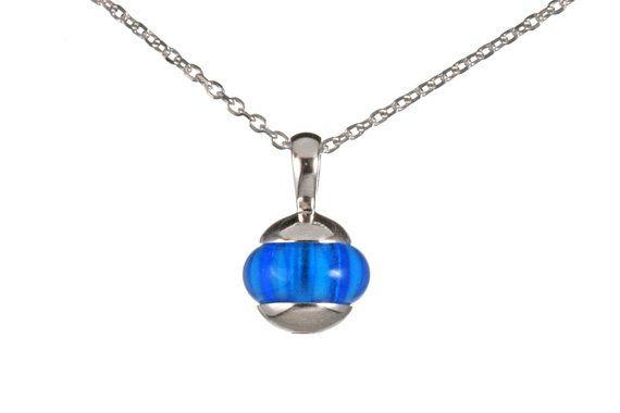 Plain bead pendant interchangeable bead jewelry 925 sterling items similar to plain interchangeable bead pendant on etsy aloadofball Choice Image