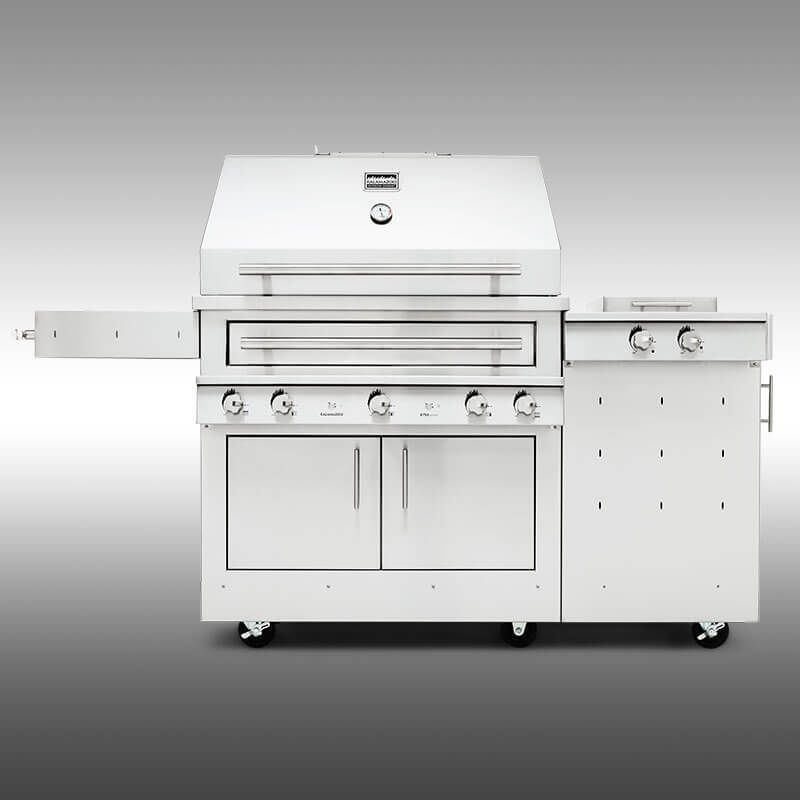 What Is A Hybrid Fire Grill