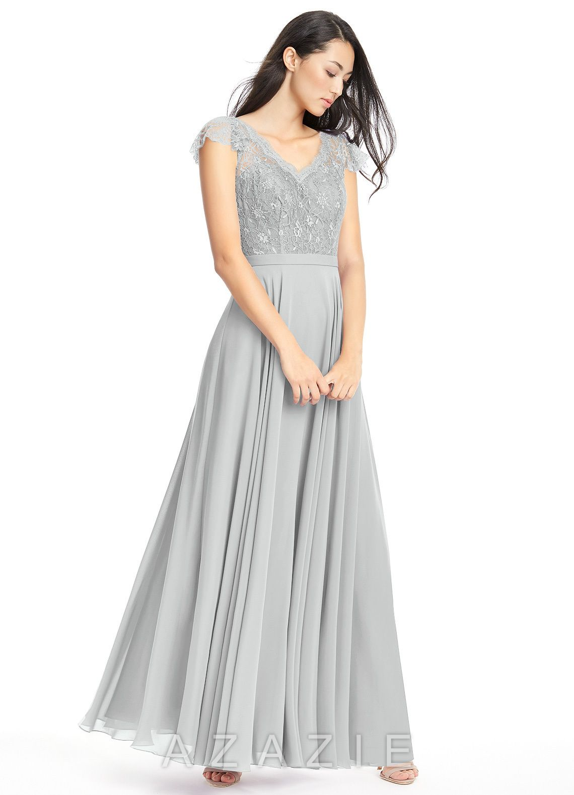 Shop Azazie Bridesmaid Dress - Cheryl in Chiffon. Find the perfect made-to-order bridesmaid dresses for your bridal party in your favorite color, style and fabric at Azazie.